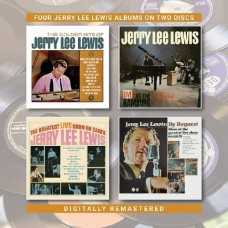 Golden Hits / Live At The Star Club / Greatest Live Show on Earth / By Request [2xCD] - Jerry Lee Lewis