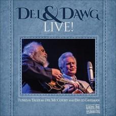 Del & Dawg Live! [2xCD] - Del McCoury & David Grisman
