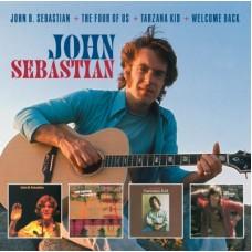 John B. Sebastian / Four Of Us / Tarzana Kid / Welcome Back / BBC In Concert [2xCD+DVD] - John B. Sebastian